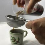 スペシャルティコーヒーだから出来る!茶漉しで作るストロングコーヒーのご紹介。